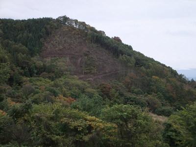 真田本城から天白城