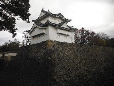 東南隅櫓(辰巳櫓)南東側