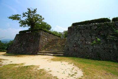 宇和島城 二の丸からの本丸