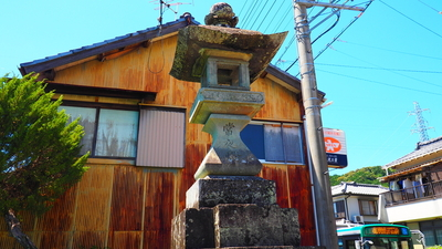 気賀宿の灯籠(34.809125, 137.648096)