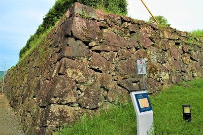 二の丸御殿跡石垣