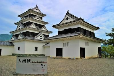 天守・台所櫓(南東側)