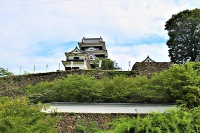 高欄櫓・天守(南側)