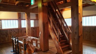 三重櫓二階面