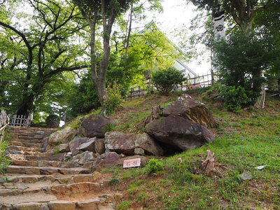 巨石石垣②
