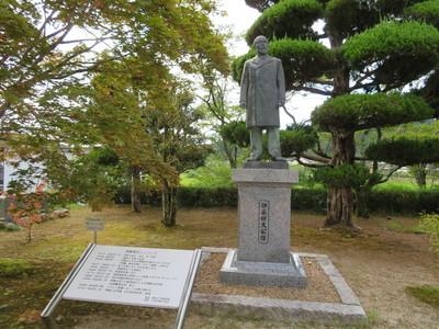伊藤博文公像