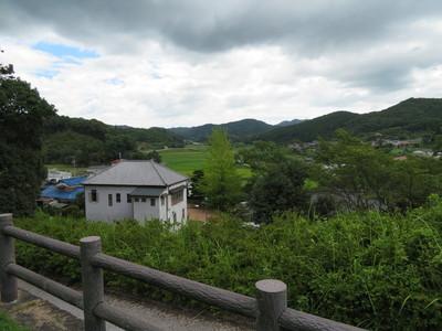 伊藤公資料館から石城山神籠石