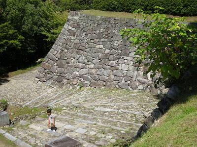 筒井城跡付近の石垣其の伍