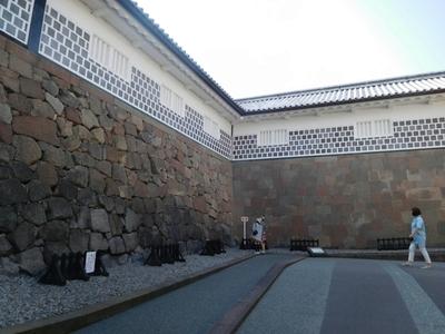 石川門枡形石垣