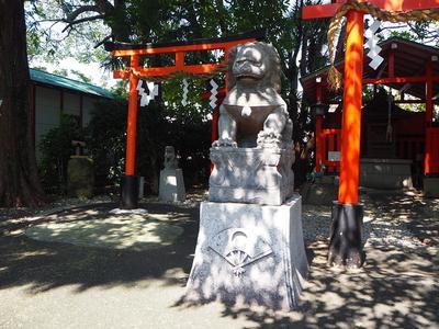 革嶋神社狛犬
