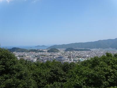 城山からの眺め其の弐
