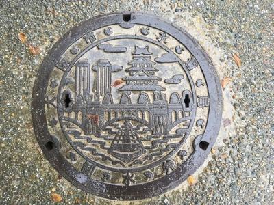 大阪城 マンホール