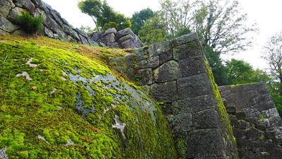 大矢倉石垣と巨石