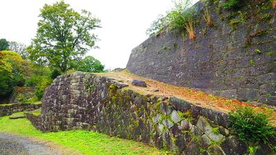 石垣(二の丸台所門付近)