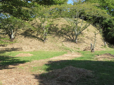 二番櫓跡から乾櫓跡