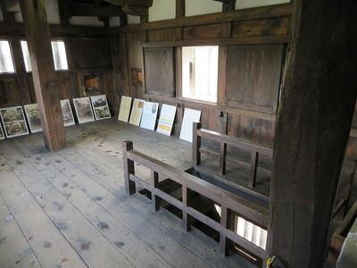 二階櫓(二階内部)