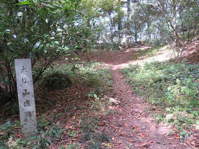 大松山城跡