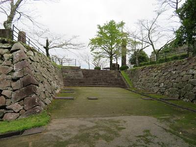 二階門櫓跡