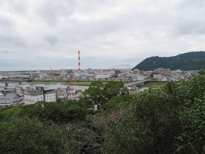 天守曲輪からの眺望(南側)