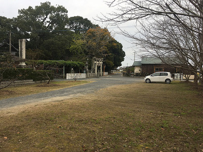 須佐神社駐車場