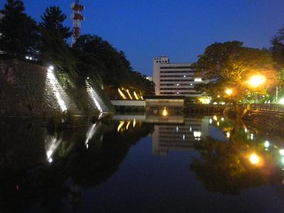夜の御廊下橋