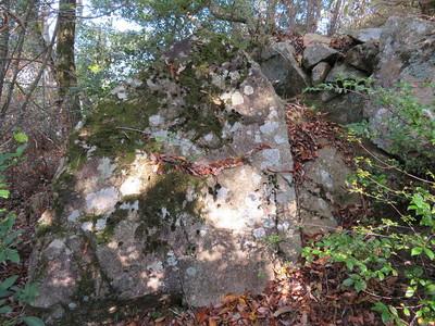 下太鼓の丸 三段目の石垣