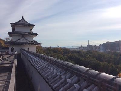 明石城の巽櫓