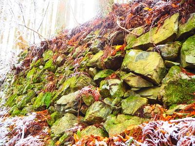 鷹屋ノ丸下の石垣