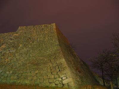 櫓台石垣◆丸亀夜城