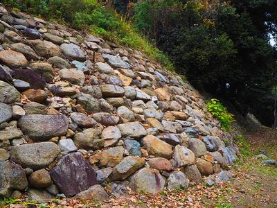 野面積の石垣