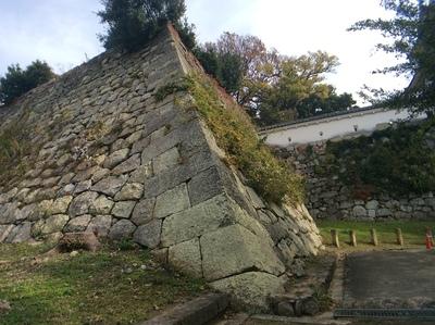 明石城天守台石垣