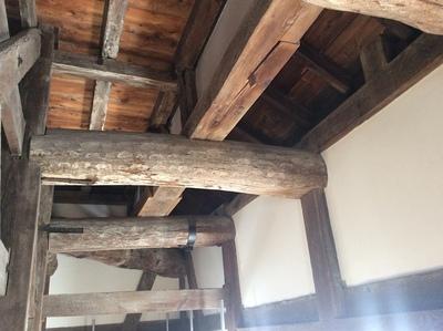 明石城巽櫓内部