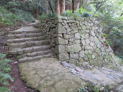 井戸丸門跡