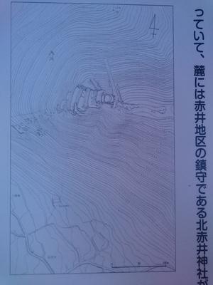 天白城縄張り図