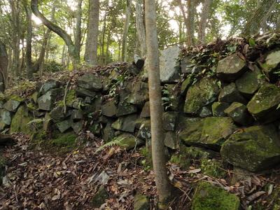 石垣(三の丸)