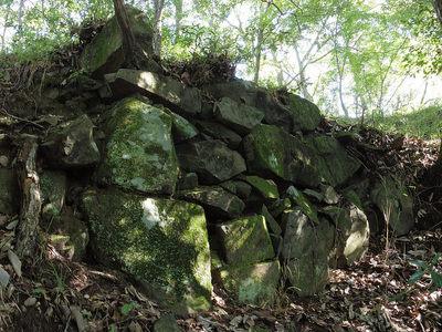 石垣(二の丸)