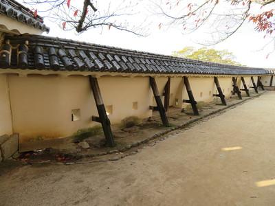 紫竹門西土塀