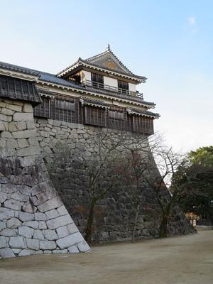 北隅櫓(北から)