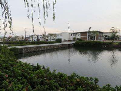 大手門前の土橋・堀