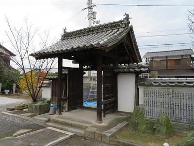 坂下門(徳蔵寺山門)
