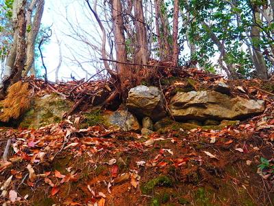 石積◆櫓台下
