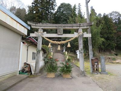 お正月の大森神社