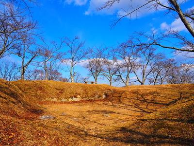 主郭建物跡◆本城