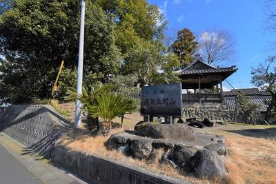 間島太閤山 全景