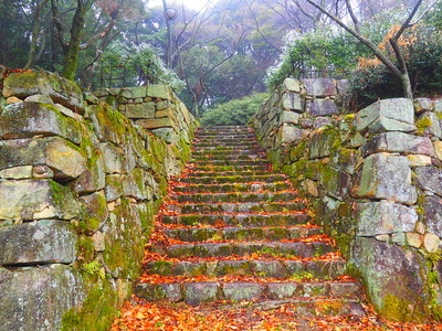 松の丸虎口石垣