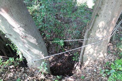 詰の丸東側井戸跡