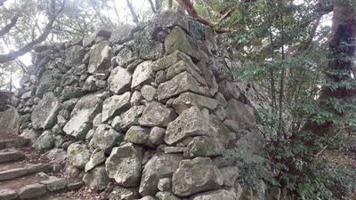 玖島城 いろは段虎口 石垣②