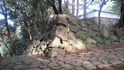 玖島城 いろは段虎口 石垣④