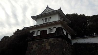 玖島城 板敷櫓③