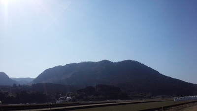 玖珠城 遠景